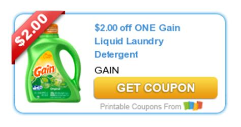 printable gain coupons 3 off gain laundry detergent get coupon free coupons