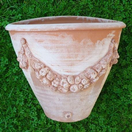 tornio per vasi mezzo vaso a tornio festonato terrecotte ceramiche diana