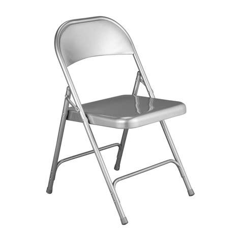 macadam sillas plegables  auxiliares plateado metal habitat