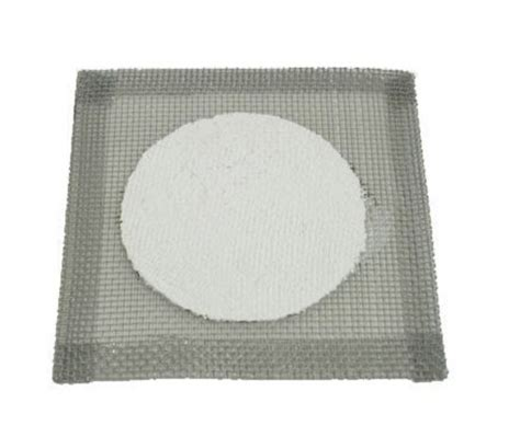 Gauze Mat Science by Ceramic Centre 100mm Dia On Wire Mesh 150mm X 150mm
