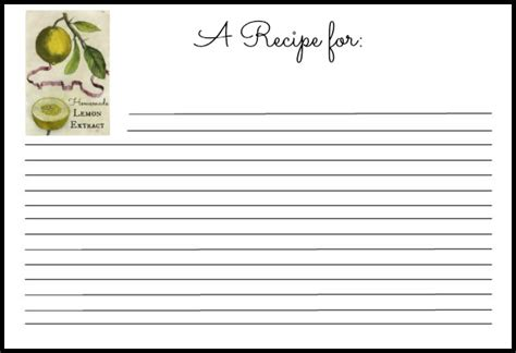 recipe card template word 6 recipe card templates word excel templates
