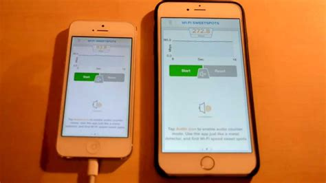 wifi speed comparison between iphone 5 and iphone 6 plus