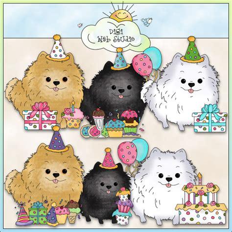 happy birthday pomeranian pomeranian clip breeds picture