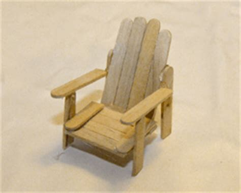 Popsicle Stick Chair by Pdf Plans How To Make An Adirondack Chair Out Of Popsicle