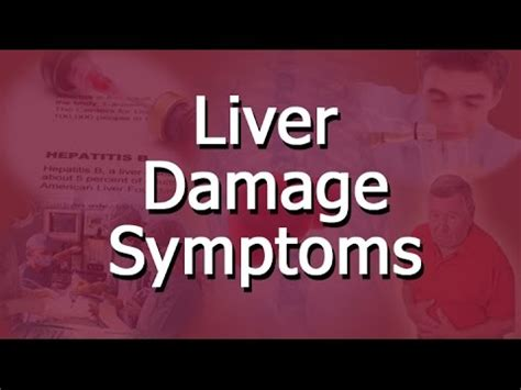 Liver Detox Side Effects Headache by Liver Damage Symptoms