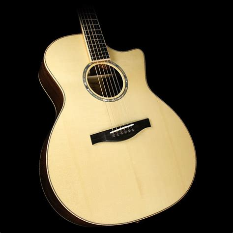 fanned fret acoustic guitar used eastman ac822ce fanned fret acoustic electric guitar