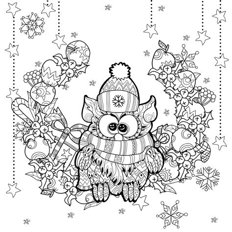 funny christmas coloring pages for adults