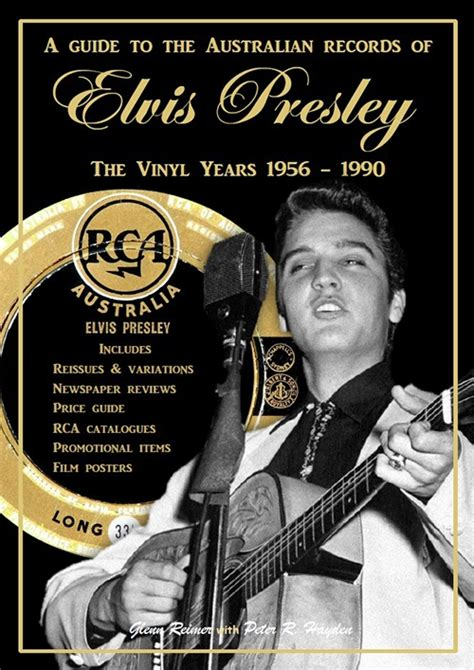 Australian Records Buch Quot A Guide To The Australian Records Of Elvis Quot Elvis Gesellschaft