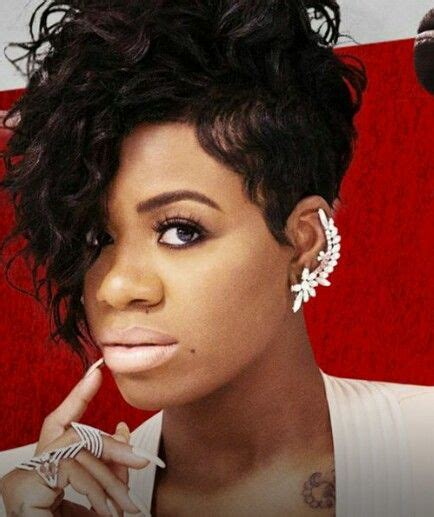 fantasia short hairstyles pictures been loving fantasia s hair lately this asymmetrical