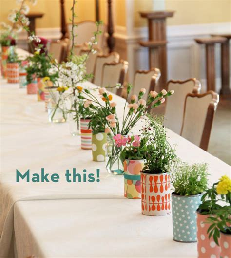 make it a simple and charming diy centerpiece idea
