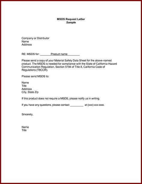 Request Letter Pdf Request Letter Format In Bank
