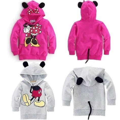 Hoodie Mickey Boy Cloth free shipping baby clothing children boy sweater hoodies mickey minnie sweatshirts mouse