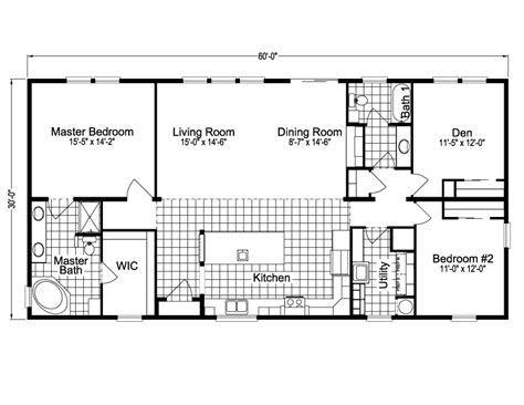 1 S Addition Floor Plans - mobile home addition floor plans
