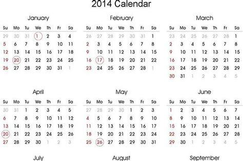 annual calendar template 2014 2014 yearly calendar free premium templates