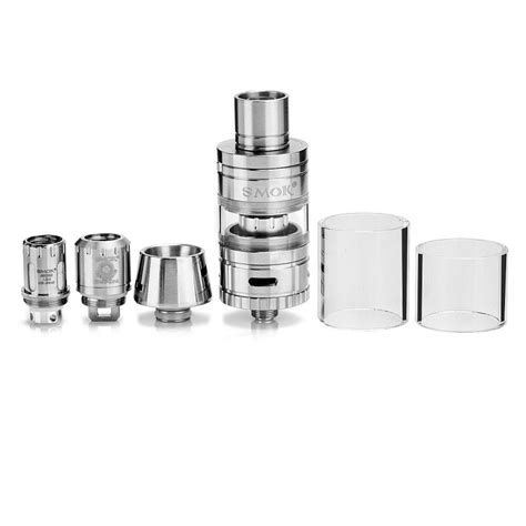 Original Smoktech Smok Micro Tfv4 Plus Xl Glass 3 5ml 1 authentic smoktech micro tfv4 silver sub ohm tank clearomizer