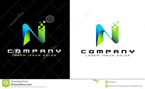 Business Letter Logo related keywords suggestions for letter n logo