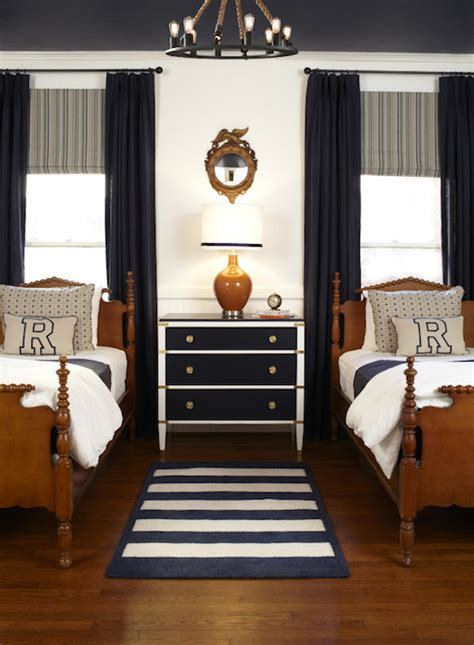 bedroom for 2 boys white and navy rug contemporary living room studio mcgee