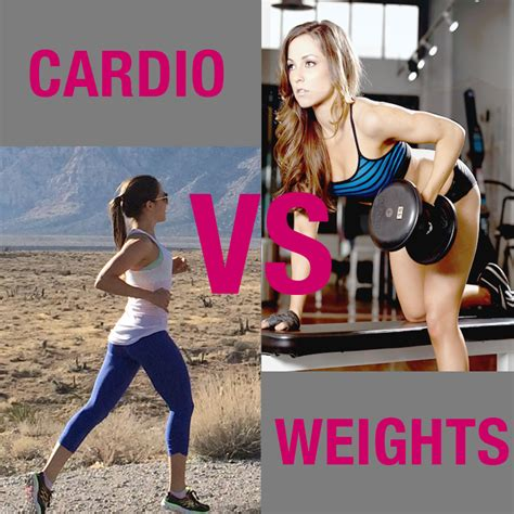 Should I Do Cardio Or Weights To Get Lean by Cardio Or Strength Which Should You Do