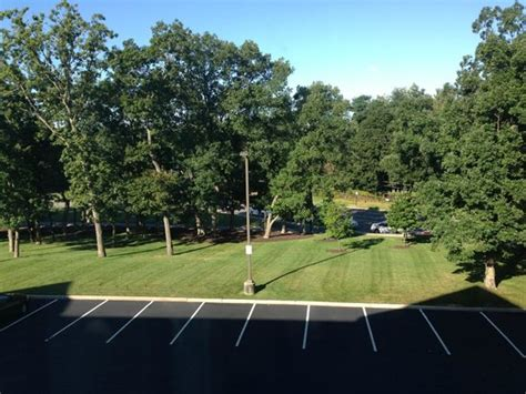 Garden Inn Plainview Ny by Backside Of Hotel And View Of Road