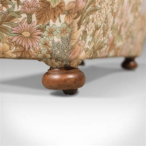 antique ottoman victorian upholstered chest