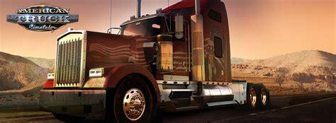 maps kenworth  peterbilt truck dealers american truck simulator game guide