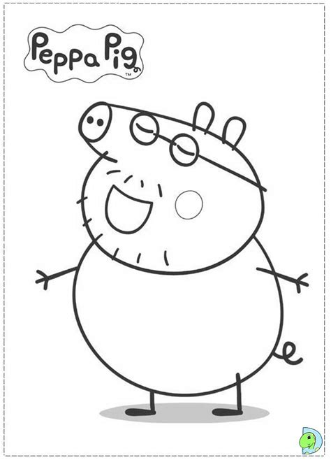 peppa pig winter coloring pages free coloring pages of mummy pig peppa pig