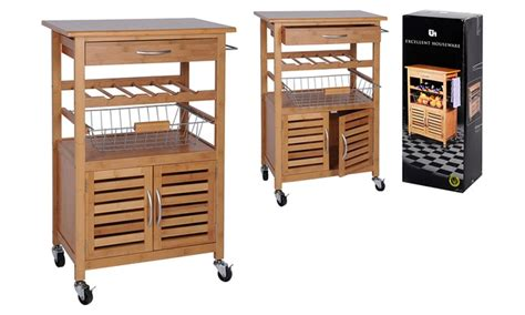 mobiletto da cucina mobiletto da cucina con 4 ruote groupon