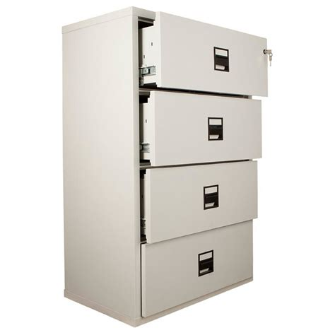 File Cabinets Lateral Fireking Lateral Mlt4 Resistant File Cabinet Fireproof Filing Cabinets Uk