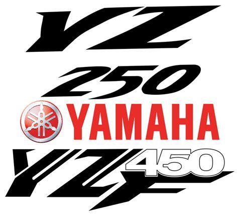 design logo yamaha download logo yz250 yamaha yz450 vector free kuro art