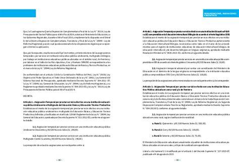 normas complementarias de la ley de reforma magisterial
