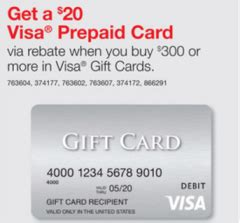 Send A Visa Gift Card Online - buy 300 in visa gift cards from staples this week and get a free 20 visa gift card