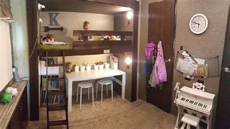 Fifth wheel Bunkhouse Remodel   RV Living   Pinterest