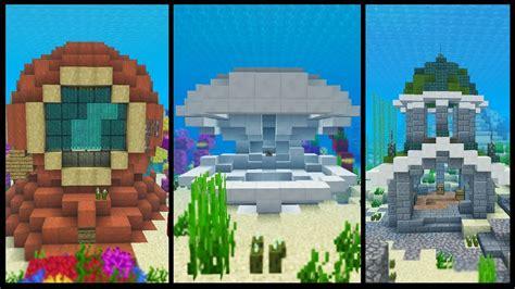 minecraft underwater house 8 underwater minecraft house ideas