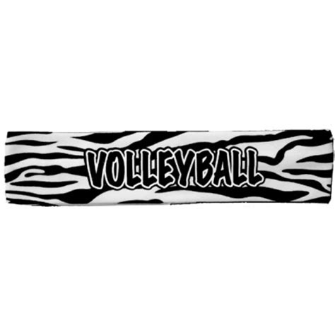 printable volleyball bookmarks 3 4 99 zebra print volleyball headband