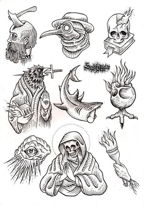tattoo flash art for men 359 best images about flash sheets on