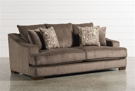 deep fabric sofa newton sofa living spaces