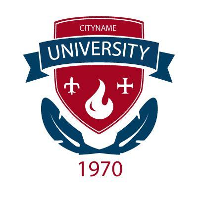 college seal template emblem badge logo template emblem