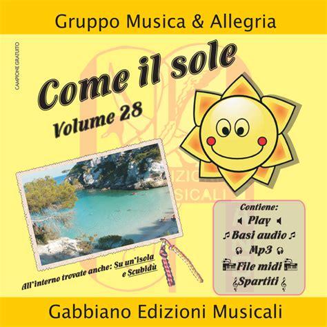 gabbiano edizioni musicali come il sole album gabbiano edizioni musicali