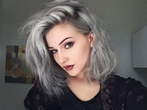 grey hair trend 2015 gray hair trend 2015 nail art styling