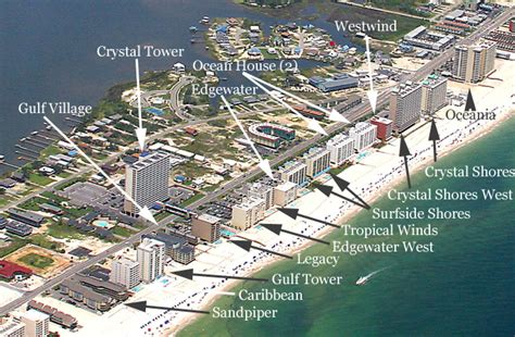 Pensacola House Rentals On The Beach - gulf shores condos for sale aerial image search condoinvestment com