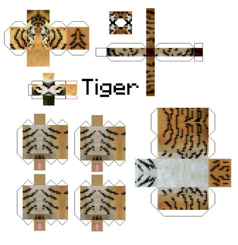 Minecraft Papercraft Animals - minecraft animals papercraft www imgkid the image
