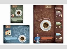 Coffee Shop Flyer & Ad Template - Word & Publisher Holiday Gift Guide Microsoft