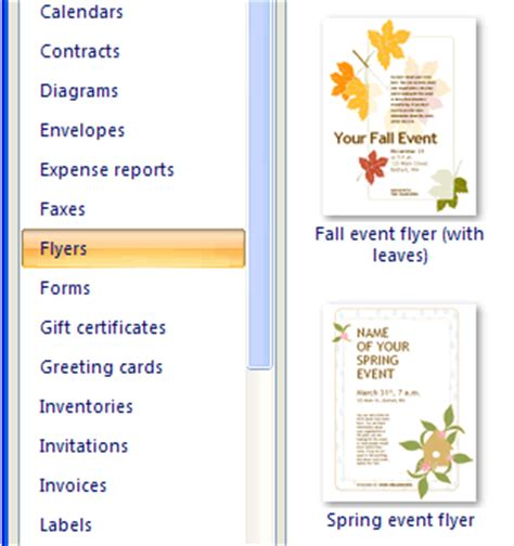 brochure templates exles use templates to save time in word excel the ides