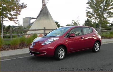 Nissan Leaf Torque by 2012 Nissan Leaf In Torque News