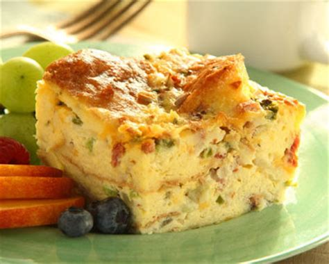 egg strata casserole brunch egg strata recipe binder