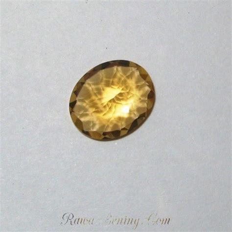 Liontin Wanita Batu Yellow Citrine jual batu permata yellow citrine oval 3 13 carat
