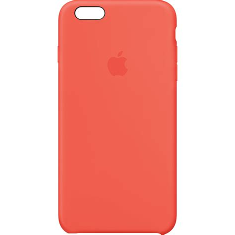 apple iphone 6 plus cases apple iphone 6 plus 6s plus silicone apricot mm6f2zm a