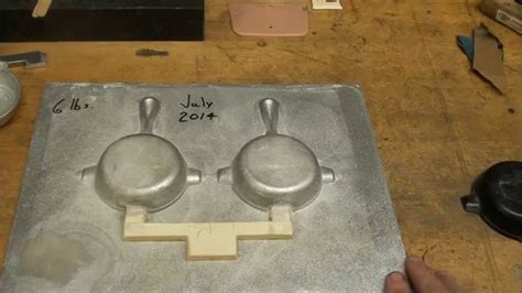 pattern making and casting casting a foundry matchplate pattern part 1 of 4 tubalcain