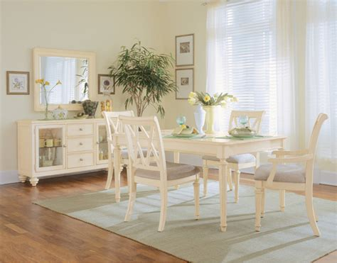 beach dining room sets camden dining room in buttermilk finish beach style