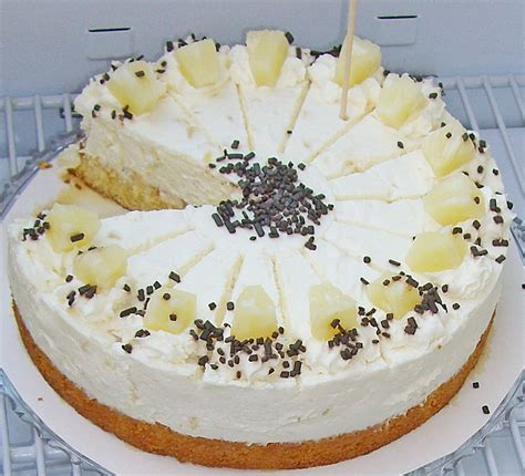 ananas sahne kuchen ananas sahne creme torte rezepte chefkoch de